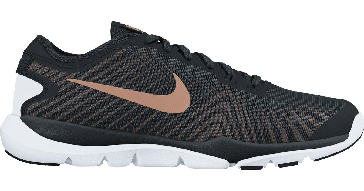 bf0bd51ad415 Lyst - Nike Flex Supreme Tr 4 Training Shoes in Black for Men