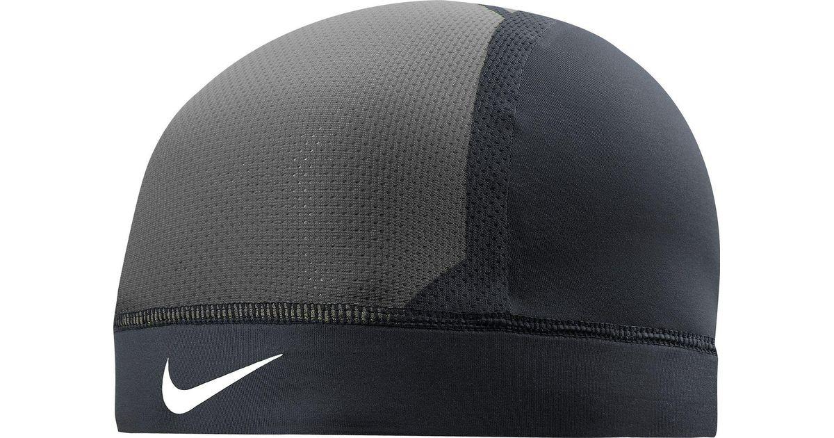 688bf72a33ba3 Nike Pro Combat Hypercool Vapor Skull Cap 3.0 in Black for Men - Lyst