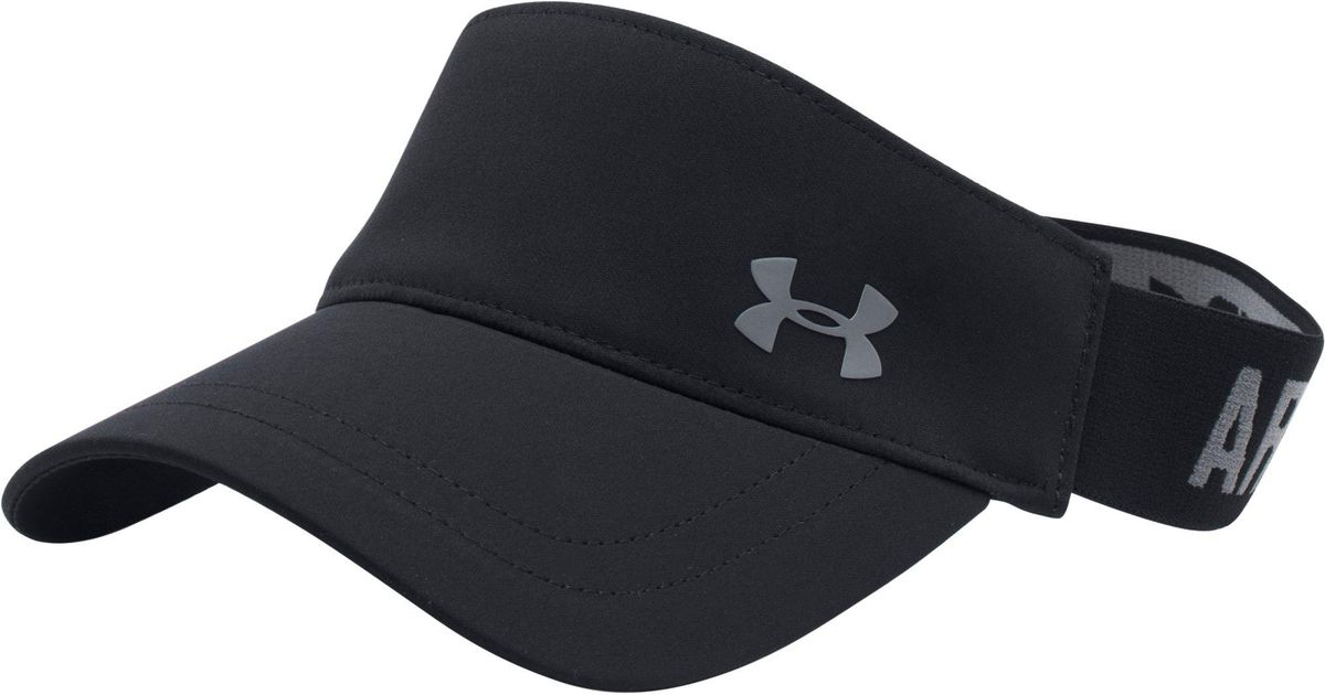 Lyst - Under Armour Armour Visor in Black for Men 296a9c239