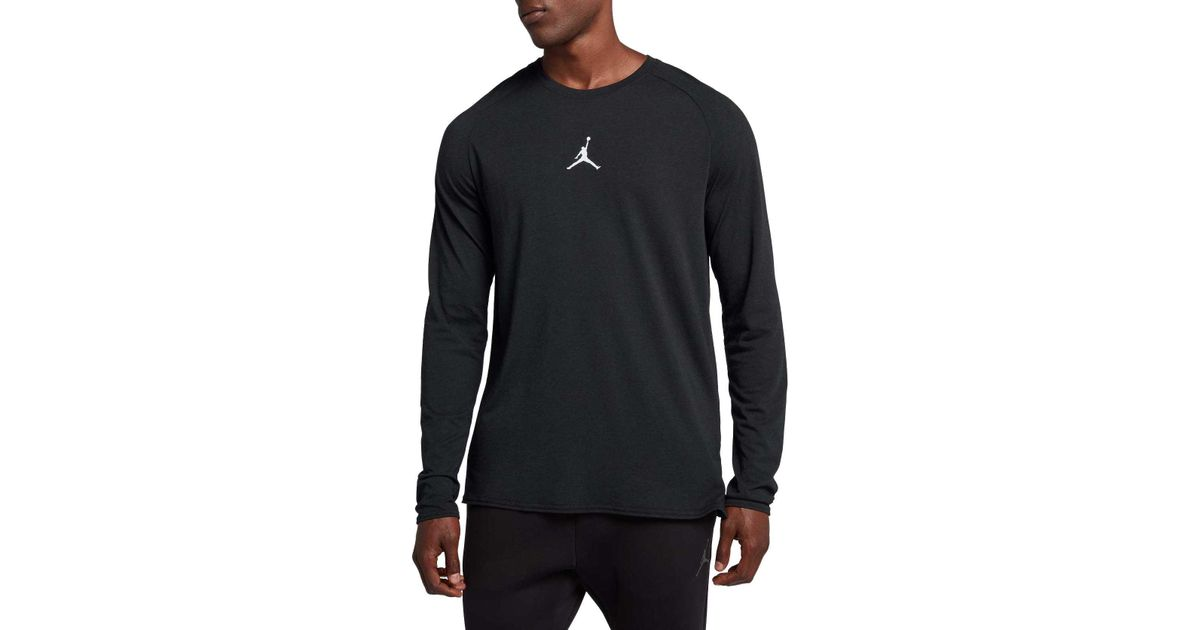 1724683a Nike Dry 23 Alpha Long Sleeve Shirt in Black for Men - Lyst