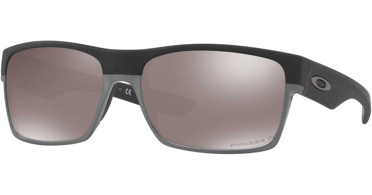 13dd2100dd Lyst - Oakley Twoface Polarized Sunglasses in Black for Men