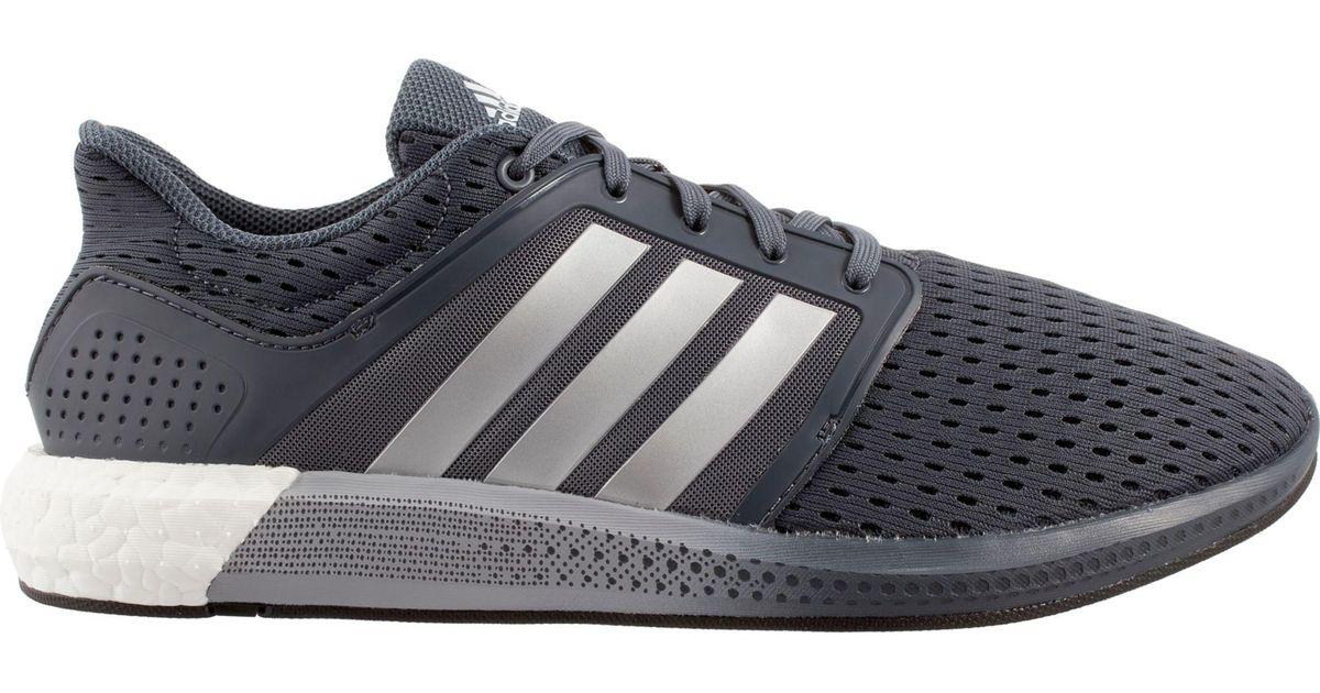 lyst adidas solare spinta scarpe da corsa in grigio per gli uomini.