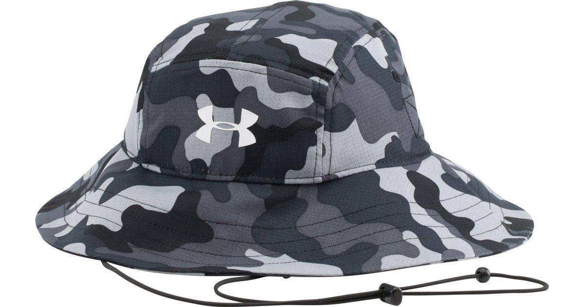 Lyst - Under Armour Ua Airvent Bucket Hat in Black for Men 220678bf8d2
