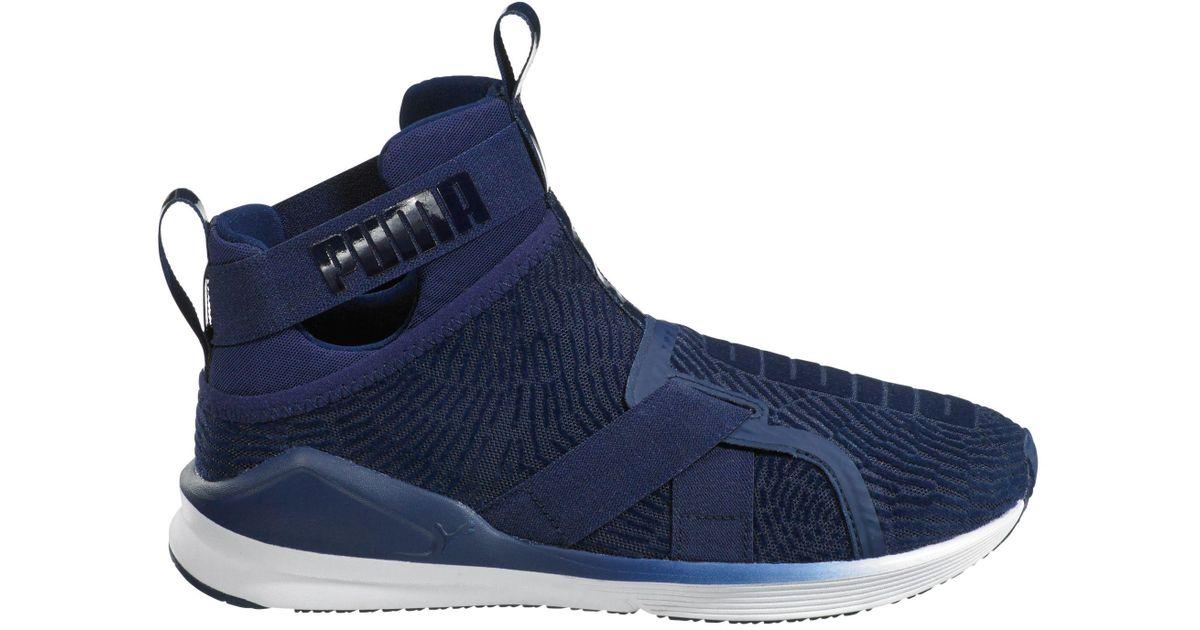 1ea81045bbc5 Lyst - PUMA Fierce Strap Flocking Casual Shoes in Blue for Men