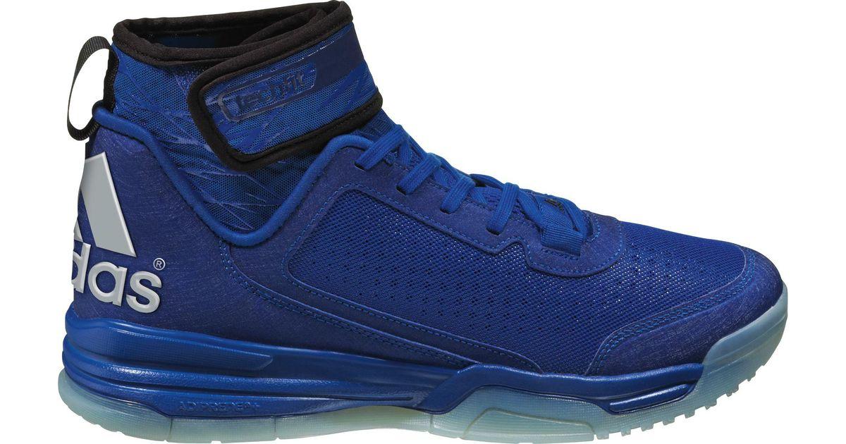 heren Adidas Bb Threat Blauw voor Lyst Originals Basketbalschoenen Dual 8wfRTf
