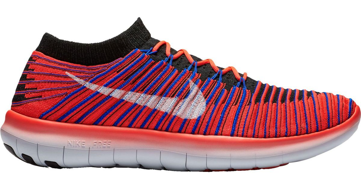 9772daeb6f6aa Lyst - Nike Free Rn Motion Flyknit Running Shoes in Red for Men