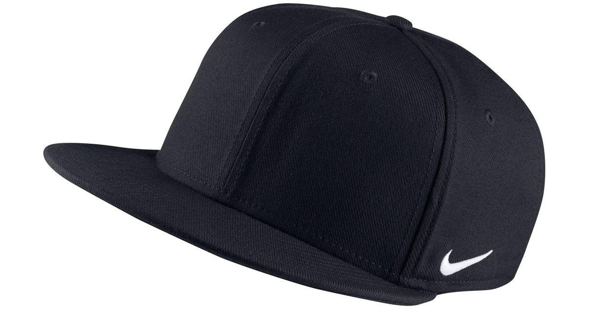 Lyst - Nike True Swoosh Flex Dri-fit Hat in Black for Men 1d2291046