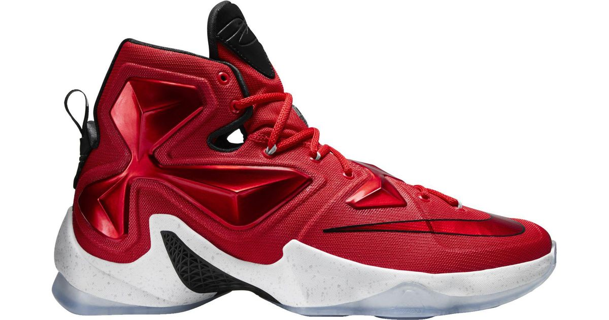 070ca2131b9 Lyst - Nike Lebron 13 Basketball Shoes in Red for Men