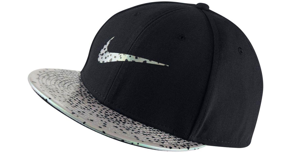6b0b026b401 Lyst - Nike Vapor True Trout Fitted Hat in Black for Men