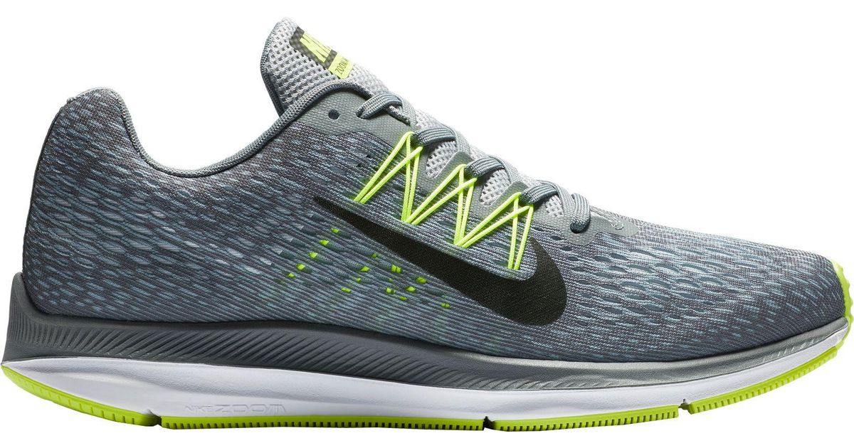 size 40 c9c02 066dd Nike Air Zoom Winflo 5 Running Shoes in Gray for Men - Lyst