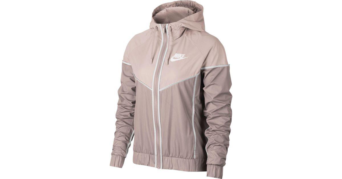 44a61af80b5 Lyst - Nike Sportswear Windrunner Jacket in Pink