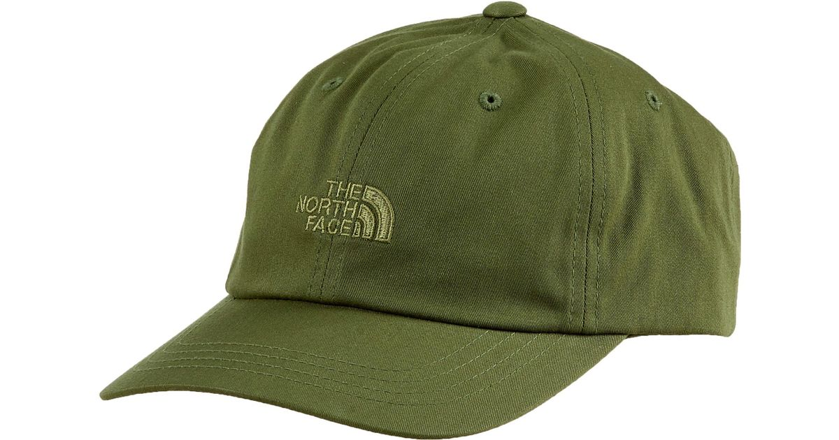 The Norm Baseball Cap Logo in Green - Burnt olive green The North Face nLPSdeIs