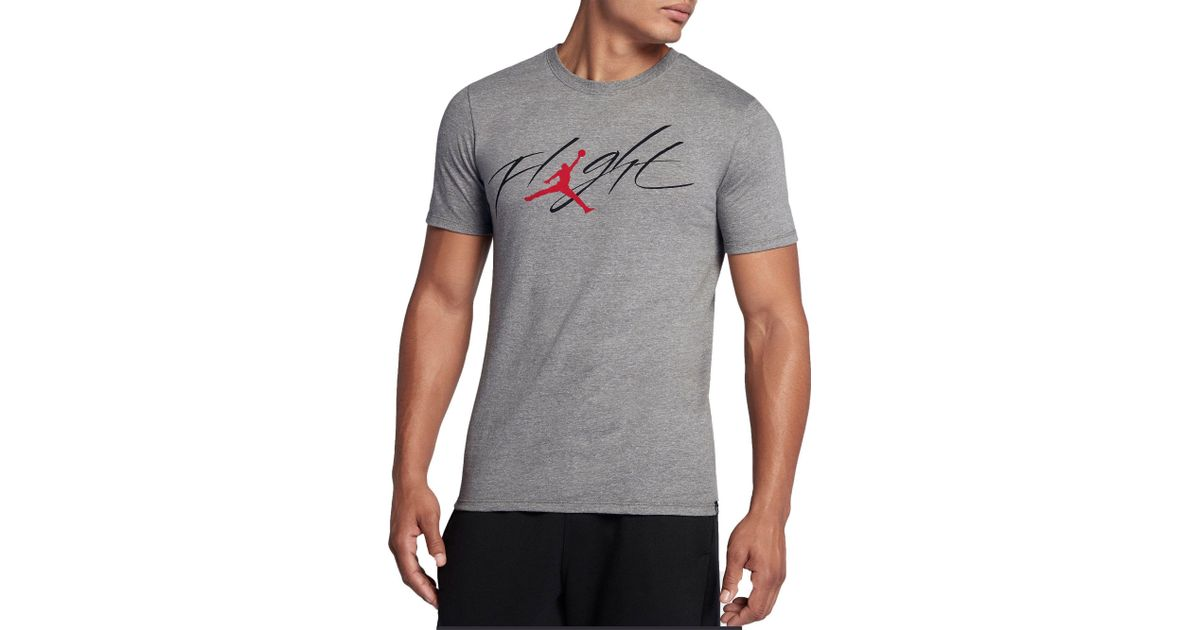 bb539570e9ad Lyst - Nike Jordan Sportswear Flight Graphic T-shirt in Black for Men