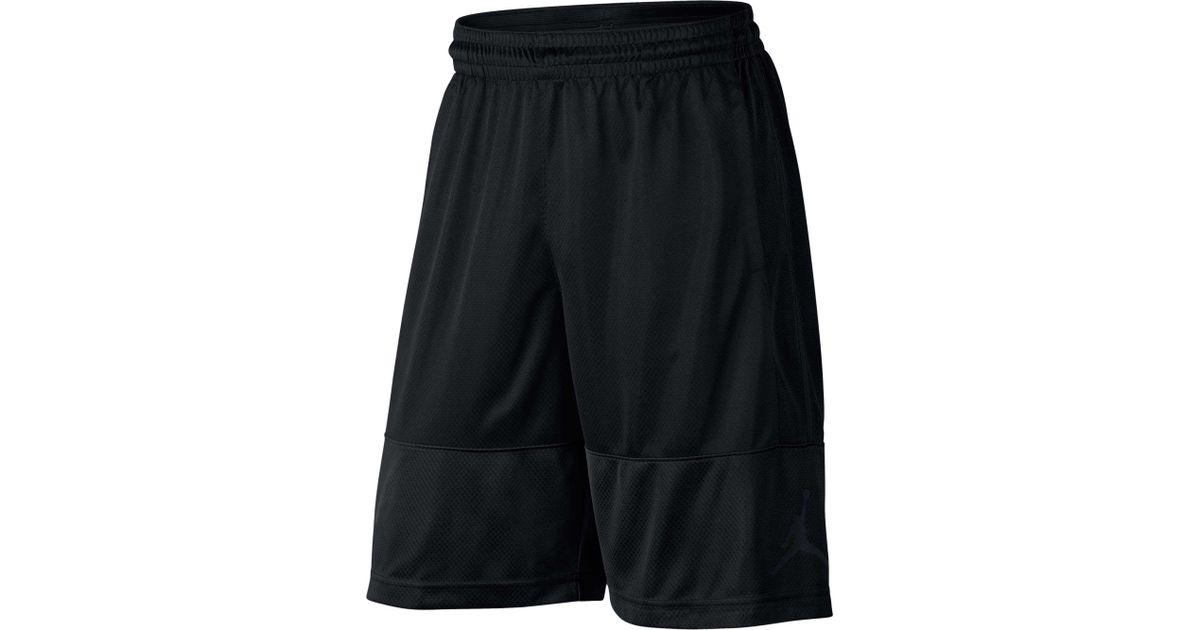 89f76f36461b Lyst - Nike Jordan Rise Solid Shorts in Black for Men