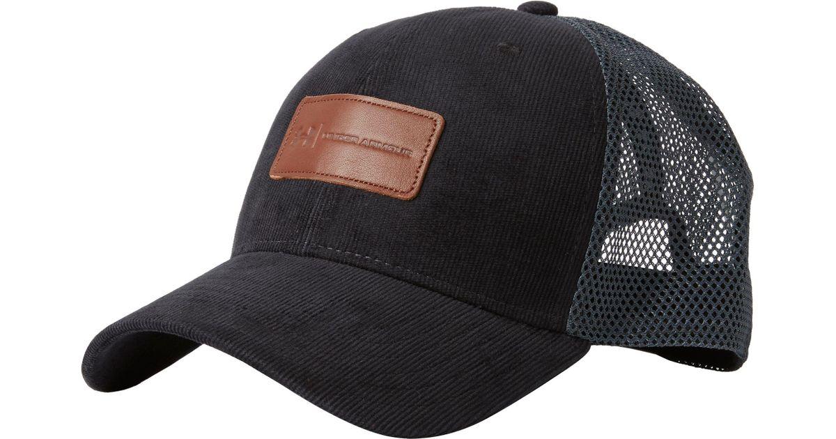 Lyst - Under Armour Odp Trucker Hat in Black for Men e69521c9d506