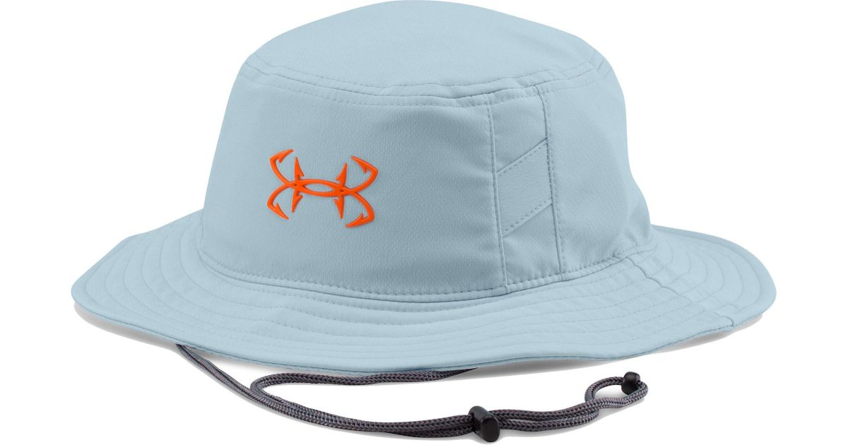 da970250d70 Lyst - Under Armour Fish Hook Bucket Hat in Blue