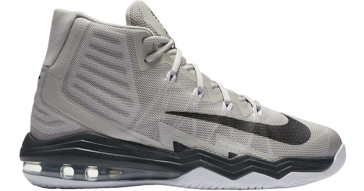Nike Gray Air Max Audacity 2016 Basketball Shoes for Men Lyst