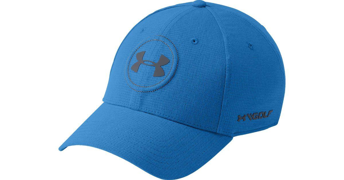 e771a8bda29101 Lyst - Under Armour Jordan Spieth Official Tour Golf Hat in Blue for Men