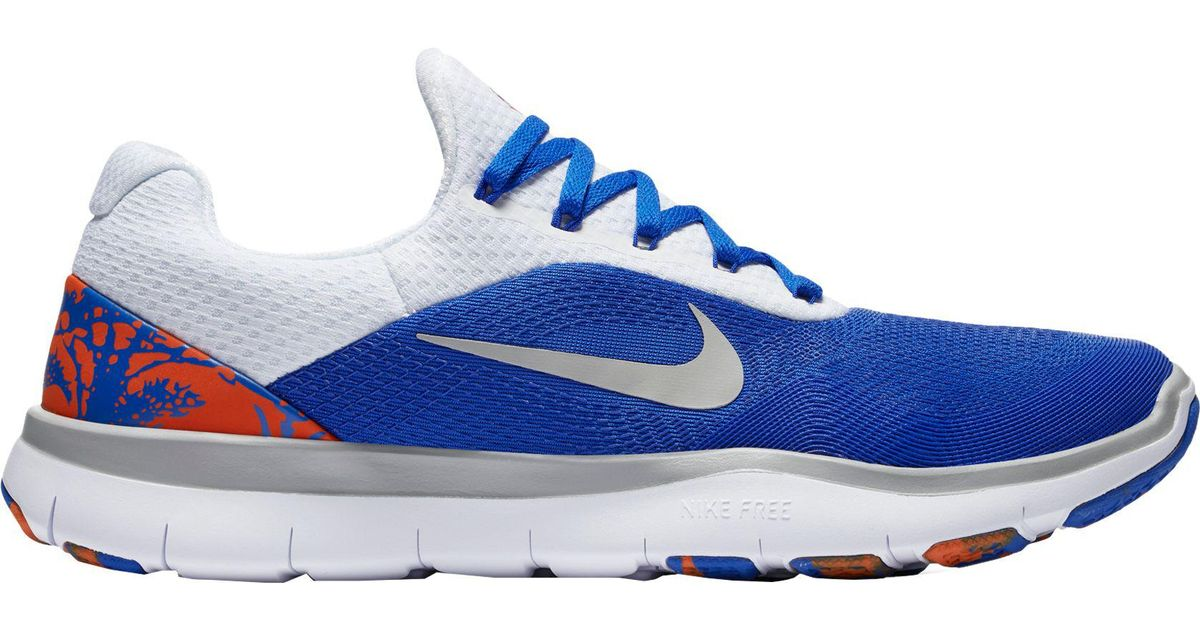 e9e61cfae21f ... get lyst nike free trainer v7 week zero florida edition training shoes  in blue for men