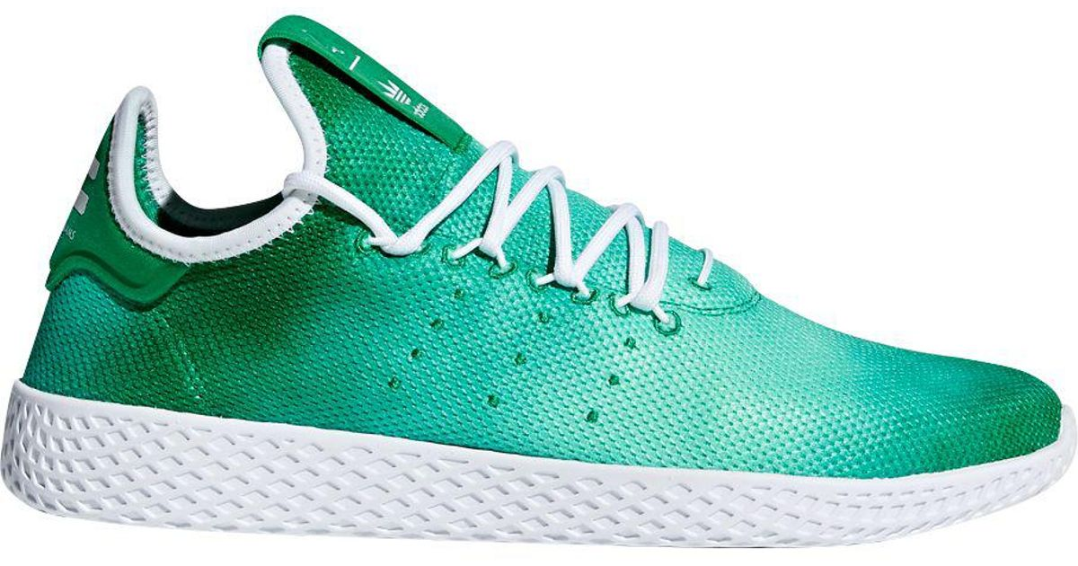 160f4d5c5fc0c Lyst - adidas Originals Pharrell Williams Tennis Hu Holi Shoes in Green for  Men