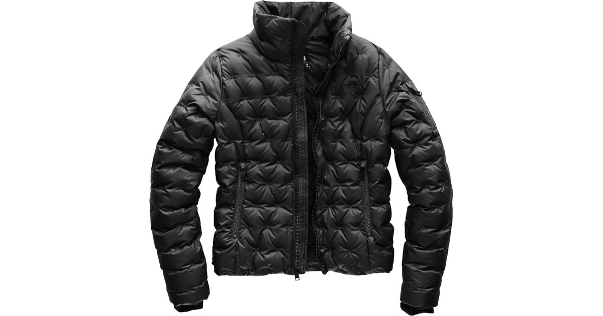abc5a509b647b Lyst - The North Face Holladown Crop Jacket