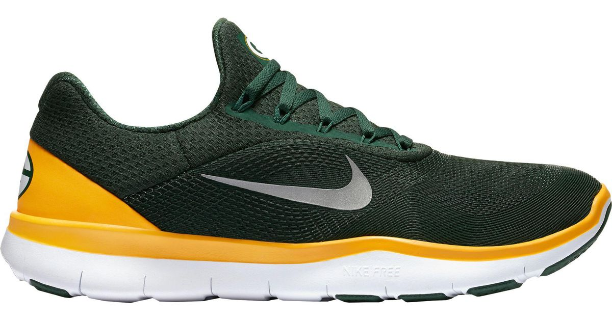 3c904e50fb27 ... switzerland lyst nike free trainer v7 nfl packers training shoes in  green for men c30e6 bf642 ...