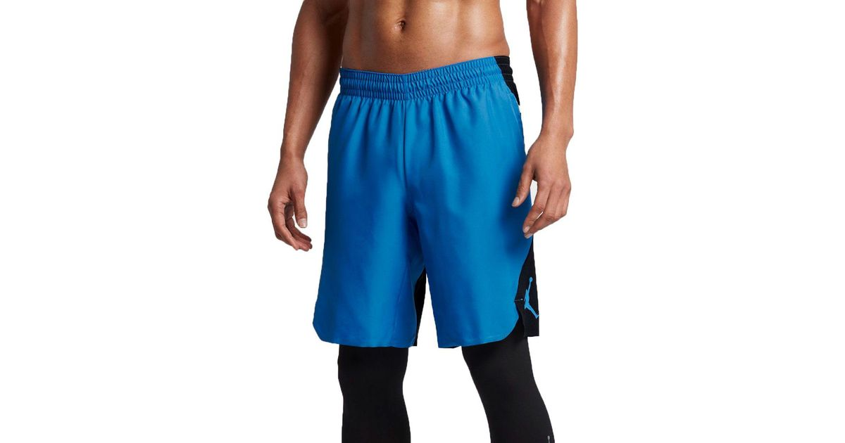 info for e1e7e f4af8 Nike Air Ultimate Flight Basketball Shorts in Blue for Men - Lyst