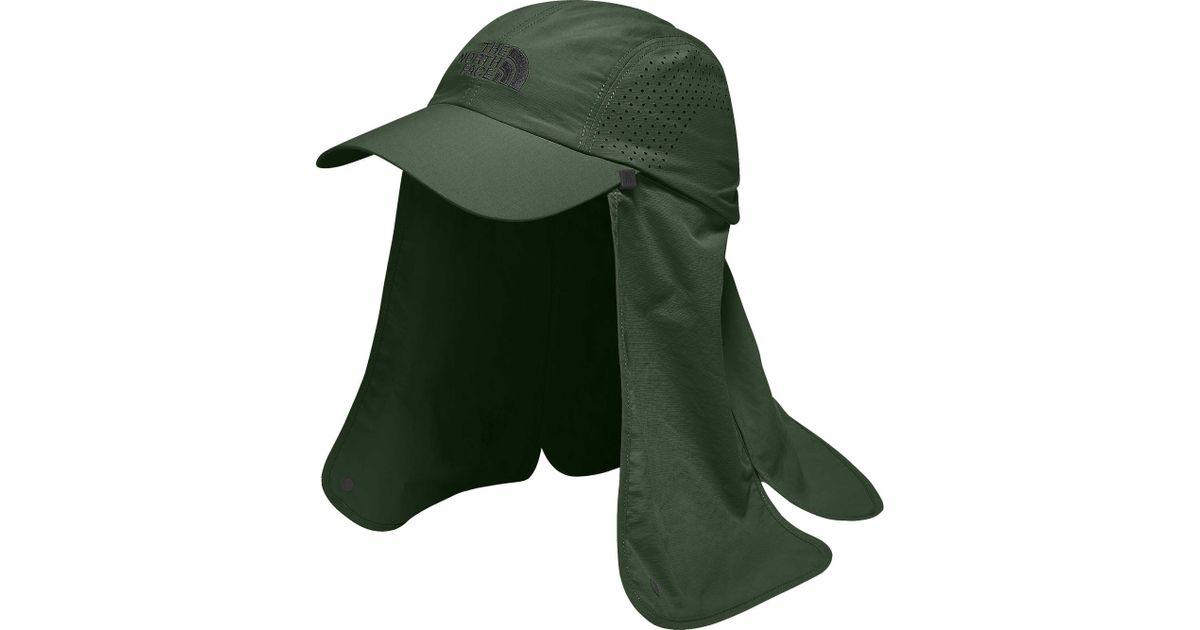 Lyst - The North Face Sun Shield Ball Cap in Green for Men aec162ec850