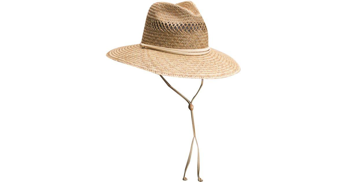 f46c172eea9537 Lyst - Dorfman Pacific Safari Hat in Natural
