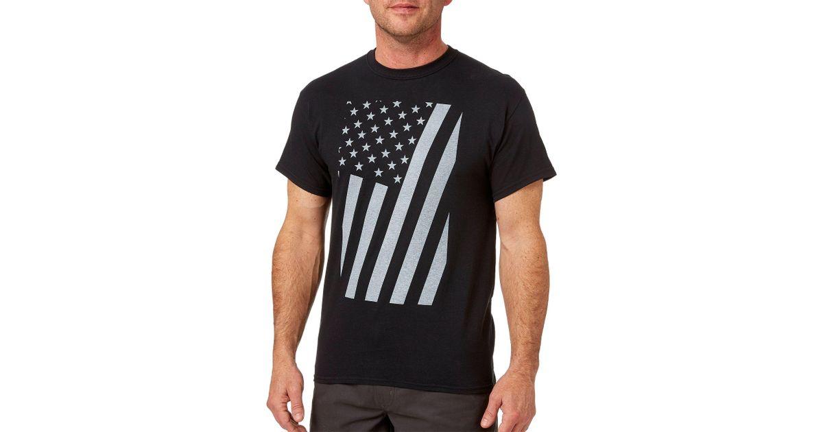 5d85709b9f DICK'S Sporting Goods Short Sleeve Americana T-shirt in Black for Men - Lyst