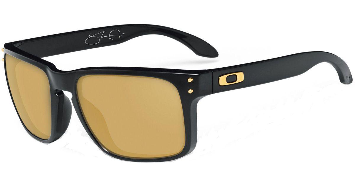 eaaf160e29 ... wholesale lyst oakley holbrook shaun white signature series sunglasses  in black for men 1eddd 42b67