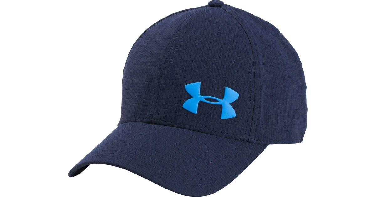 Lyst - Under Armour Airvent Core Hat in Blue for Men 5d2c0d31377e