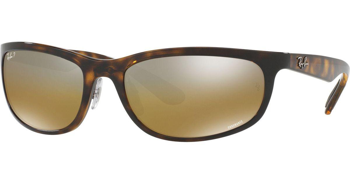 d994e0e818e Lyst - Ray-Ban Rb4265 Chromance Polarized Sunglasses for Men