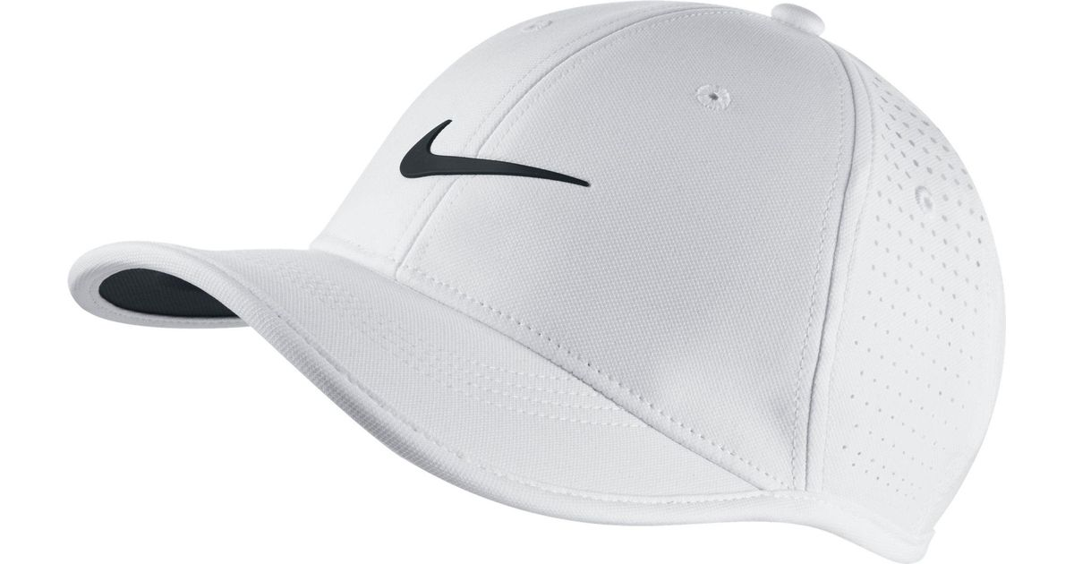 384aac79d72 Lyst - Nike Oys  Ultralight Perforated Golf Hat in White for Men