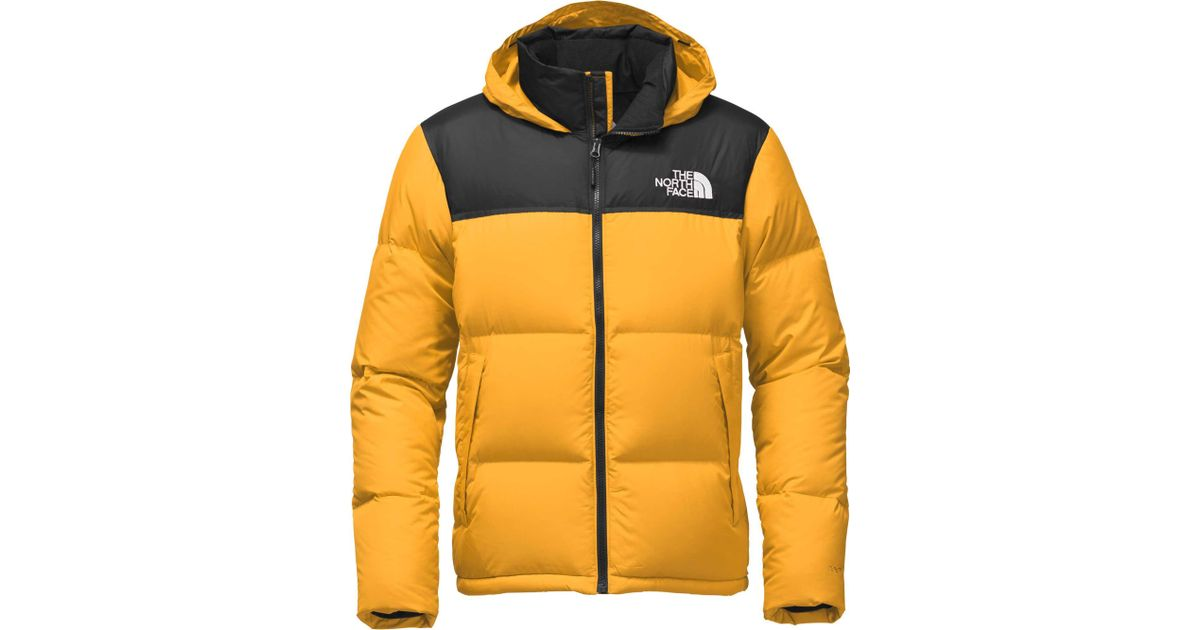 8167868e60 ... usa lyst the north face novelty nuptse down jacket in yellow for men  43244 a0103 ...
