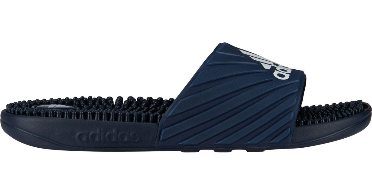 185e66595b55 Lyst - adidas Voolossage Slides in Blue for Men