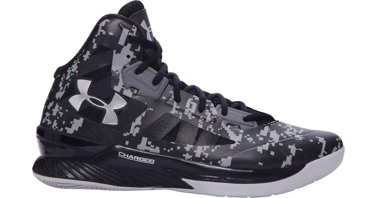 993620b0467d Lyst - Under Armour Clutchfit Lightning Basketball Shoes in Black for Men