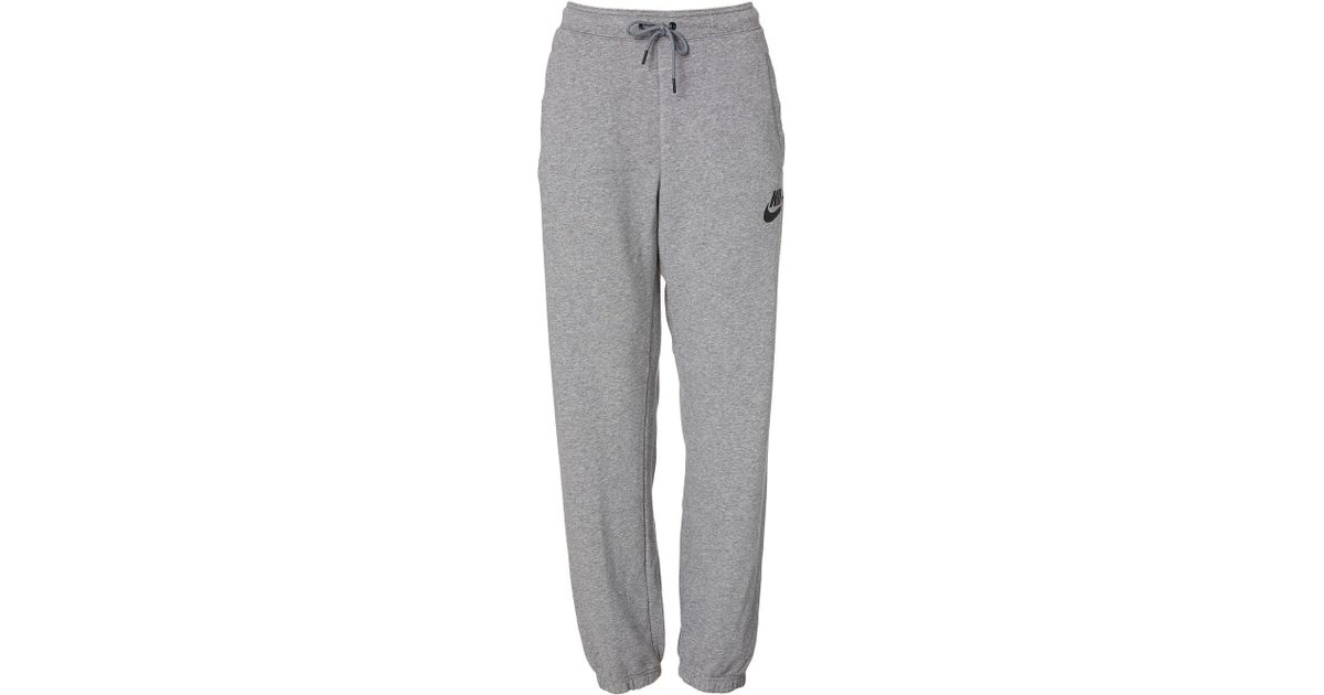 classic shoes exclusive shoes so cheap Nike Fleece Sportswear Loose Rally Sweatpants in Carbon ...