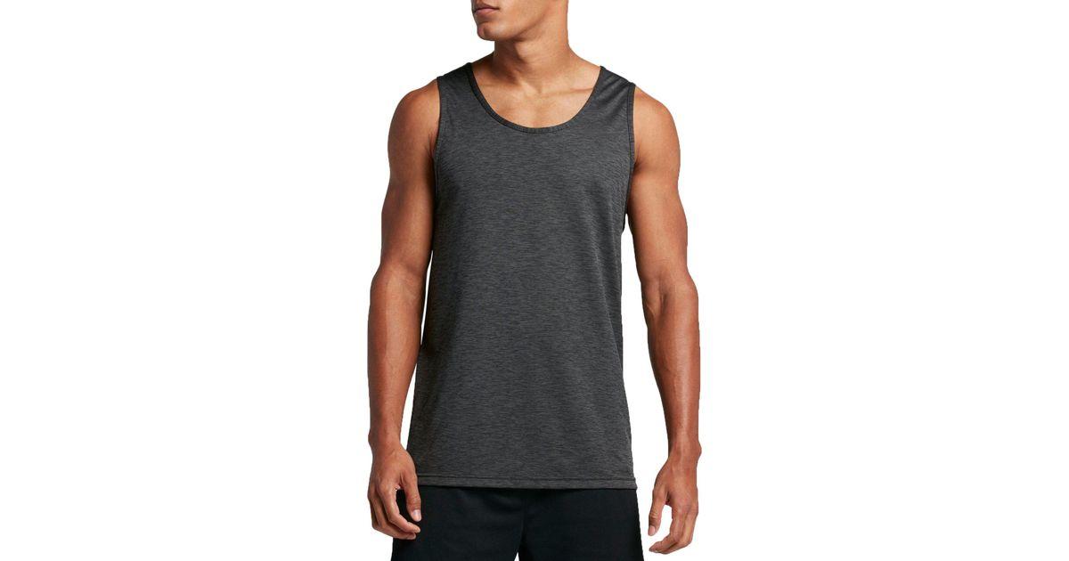 72dea1c17 Nike Hyper Dry Breathe Tank Top in Black for Men - Lyst
