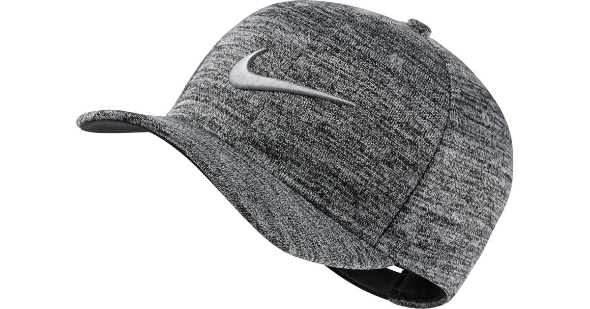 Lyst - Nike Aerobill Classic99 Heather Golf Hat in Gray for Men 0a6d66c81add