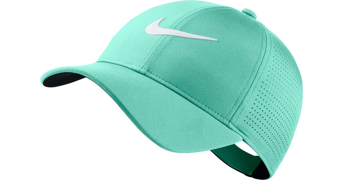 718374d882056 Lyst - Nike 2018 Aerobill Legacy91 Perforated Golf Hat in Green for Men