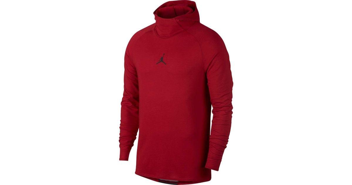 87e3e465 Nike Dry 23 Alpha Training Hooded Long Sleeve Shirt in Red for Men - Lyst
