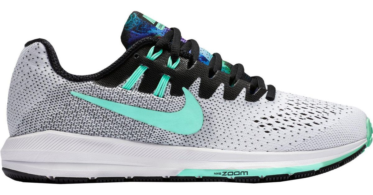 official photos 56dcc 234a9 Nike - Green Air Zoom Structure 20 Solstice Running Shoes for Men - Lyst