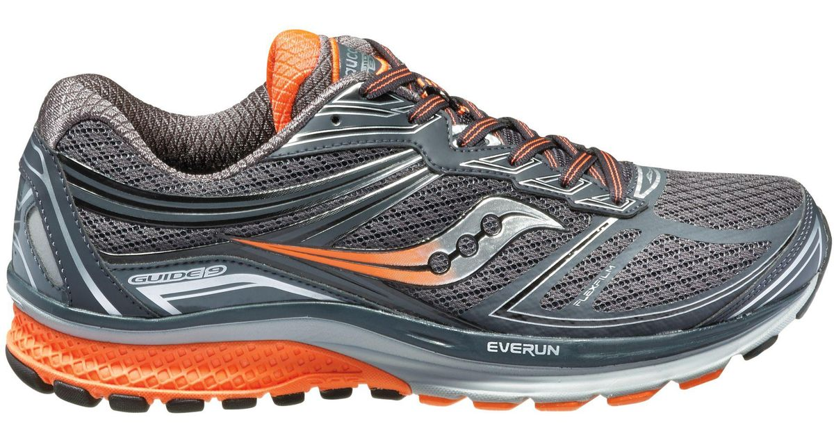 db6f033d211a Lyst - Saucony Guide 9 Running Shoes in Gray for Men
