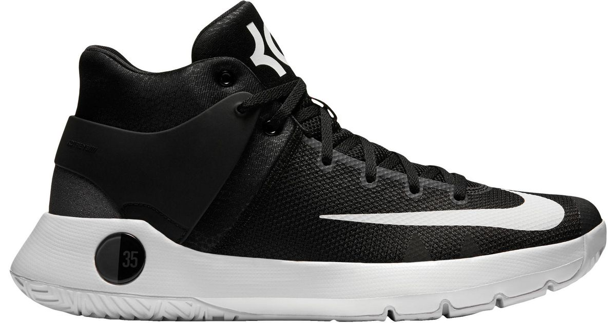 a577c7e552b Nike Kd Trey 5 Iv Basketball Shoes in Black for Men - Lyst