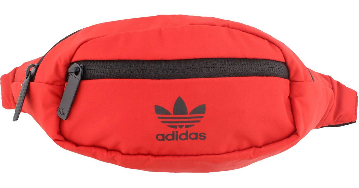 2aa368f6367 Lyst - adidas Originals National Waist Pack in Red for Men