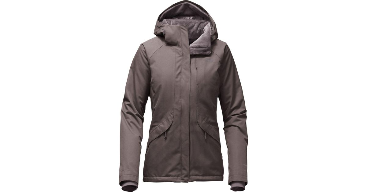 dfd39bc8cdb8 Lyst - The North Face Inlux Insulated Jacket - Past Season in Gray