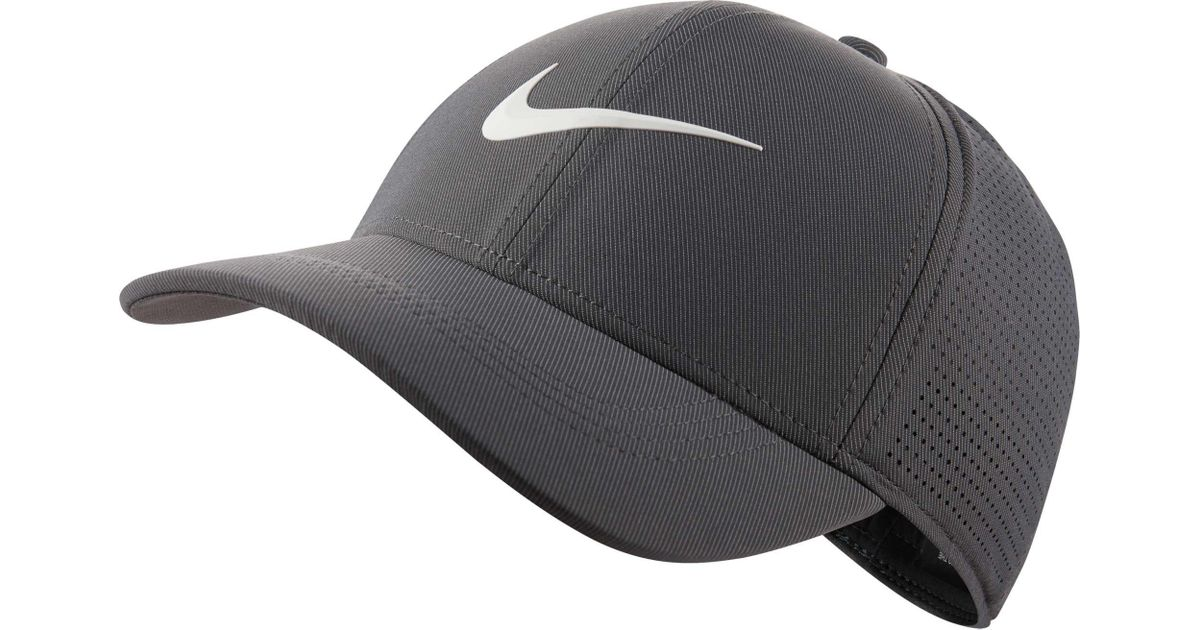 Lyst - Nike 2018 Aerobill Legacy91 Perforated Golf Hat in Gray for Men dab134e364e