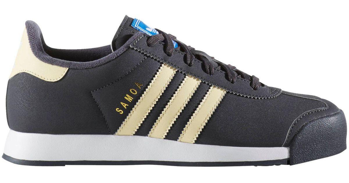 Adidas Blue Originals Samoa Shoes for men