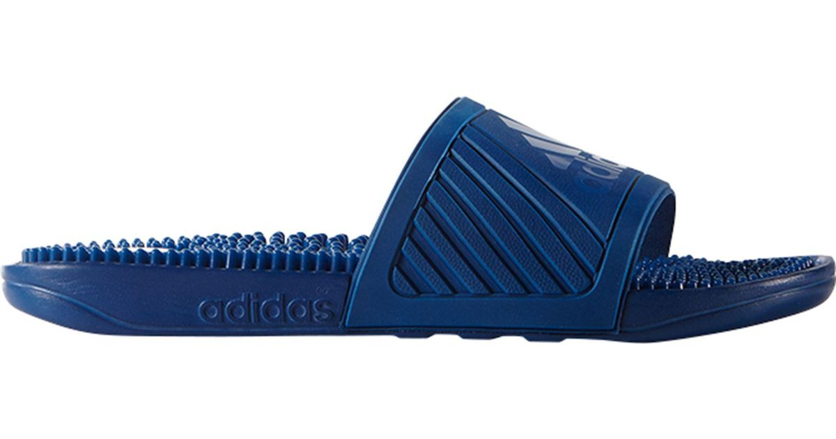 8bd85b8f7719 Lyst - Adidas Voloossage Slides in Blue for Men